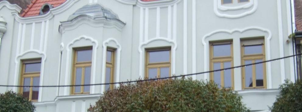 Keszthely, Kossuth u. 5. Polgári ház homlokzatfelújítás