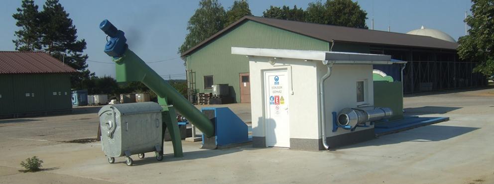 Zalaegerszegi szennyvíztelep szerves anyag feldolgozó műtárgy készítése