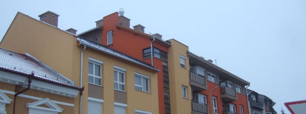 Zalaegerszeg, Ady utcai 24 lakásos társasház