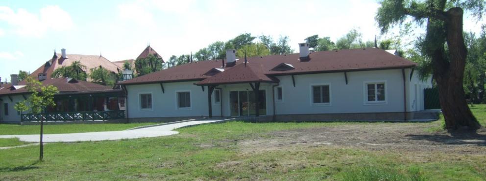 Balatonmáriafürdő, Regens Wagner Alapítvány Szállásépület készítése